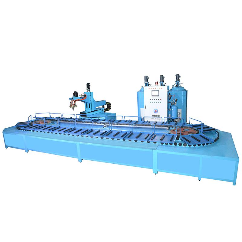 全自动智能型聚氨酯成型成套设备DG-AIAMPU15X-JG